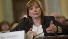 GM CEO Mary Barra Testifies At Senate Consumer Protection Panel Over Recall