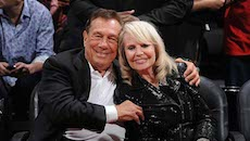 Donald-and-Shelly-Sterling-at-clippers-game
