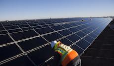 Construction At The Tenaska Imperial Solar Energy Center South Project