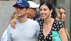 EXCLUSIVE: Joseph Gordon-Levitt seen with his girlfriend Tasha McCauley at SoHo in New York City