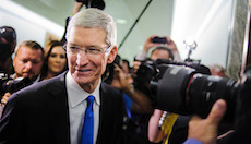 Apple CEO Tim Cook Testifies At Hearing On Offshore Taxes