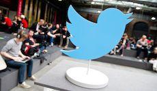 ARCHIV- Ein Twitter-Aufsteller in Form eines Vogels steht am 08.05.2014 während der Konferenz «re:publica 14» in einer Ausstellungshalle in Berlin. Photo by: Christoph Schmidt/picture-alliance/dpa/AP Images